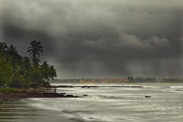 Goa Monsoon - City of Panjim