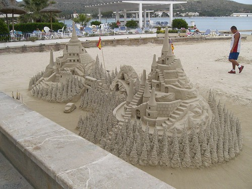 Mallorca - Sand art and play