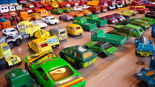 Childhood toy cars, revisited