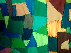 a big greens,olives,forests,and chartrueses kind of quilt