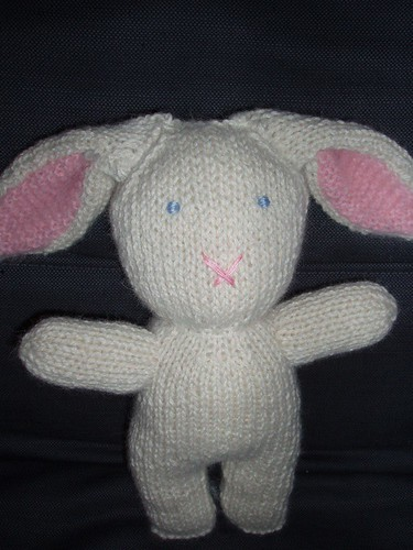 Knitted Bunny Rabbit