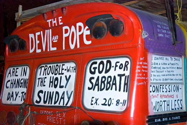 The Devil and Pope