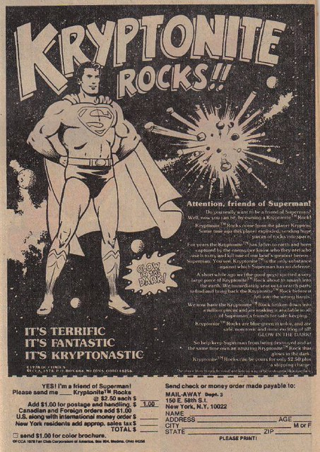 Kryptonite Rocks