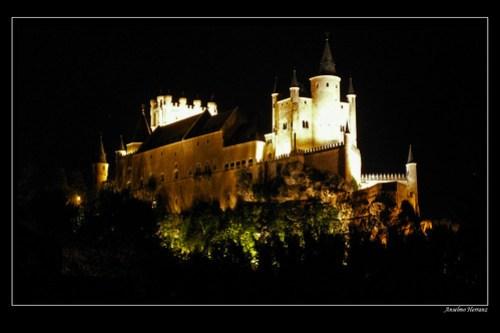 Alcazar de Segovia - Nocturna
