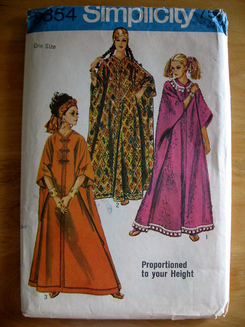 Caftan Pattern from the Sixties