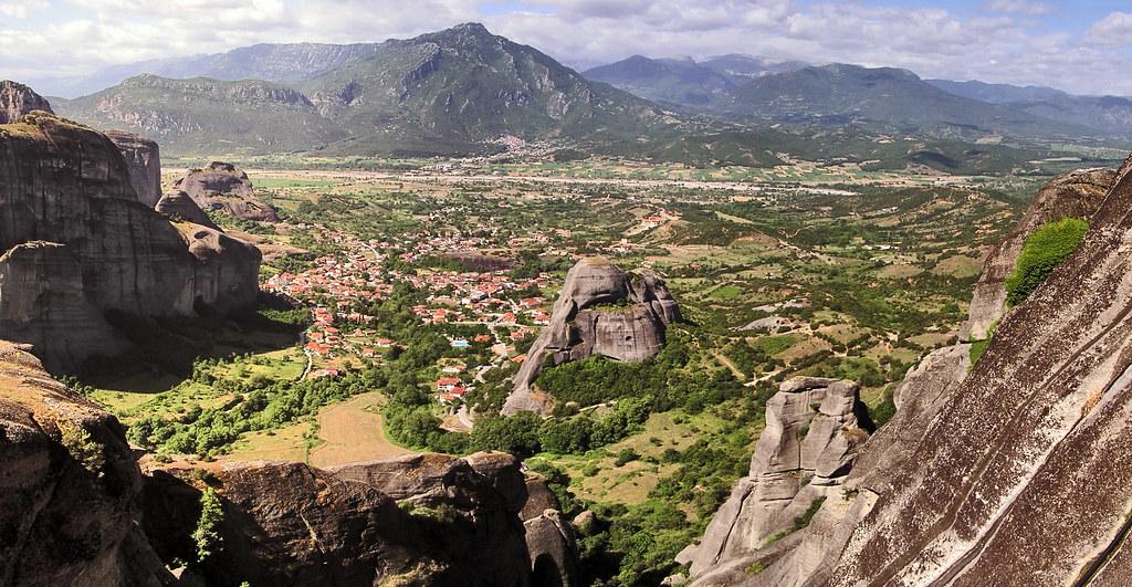Grecia vistas de Kalambaka panoramica 09