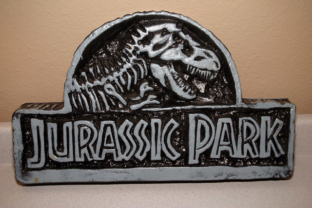 Data East Jurassic Park Pinball Cabinet Topper Flickr