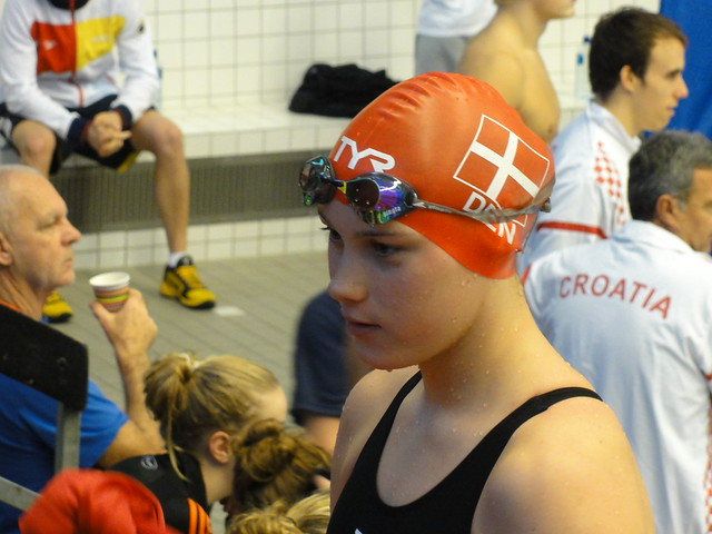 Mie Ø. Nielsen at the Stockholm World Cup 2010