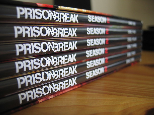 Prison Break DVD Spines