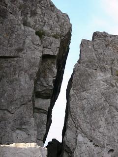 Gaps in rocks 2, Devon, 2007
