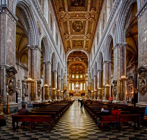 San Gennaro Cathedral , Naples Italy
