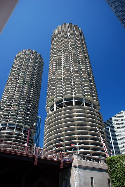 Chicago s Corn Cob Buildings  Flickr  Photo Sharing