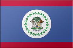 Belize flag, Belize