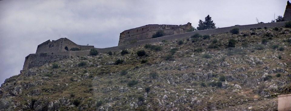 Grecia Nauplia fortaleza de Palamidi 01