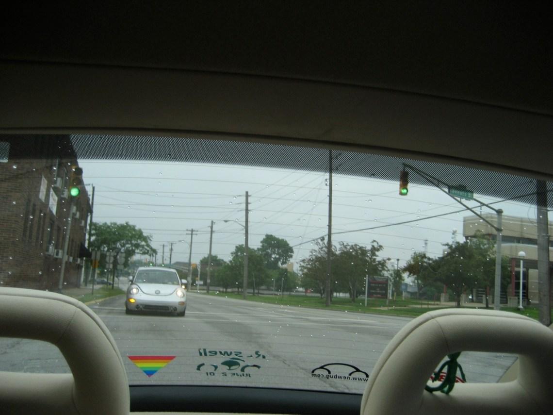 Spacepod in rear view