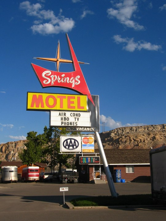 Springs Motel - Rock Springs, Wyoming U.S.A. - August 28, 2007