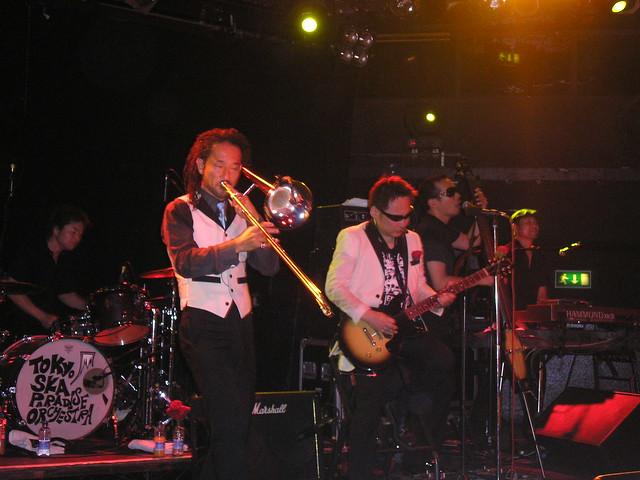 Tokyo Ska Paradise Orchestra, Mean Fiddler, London, 19th July 2007