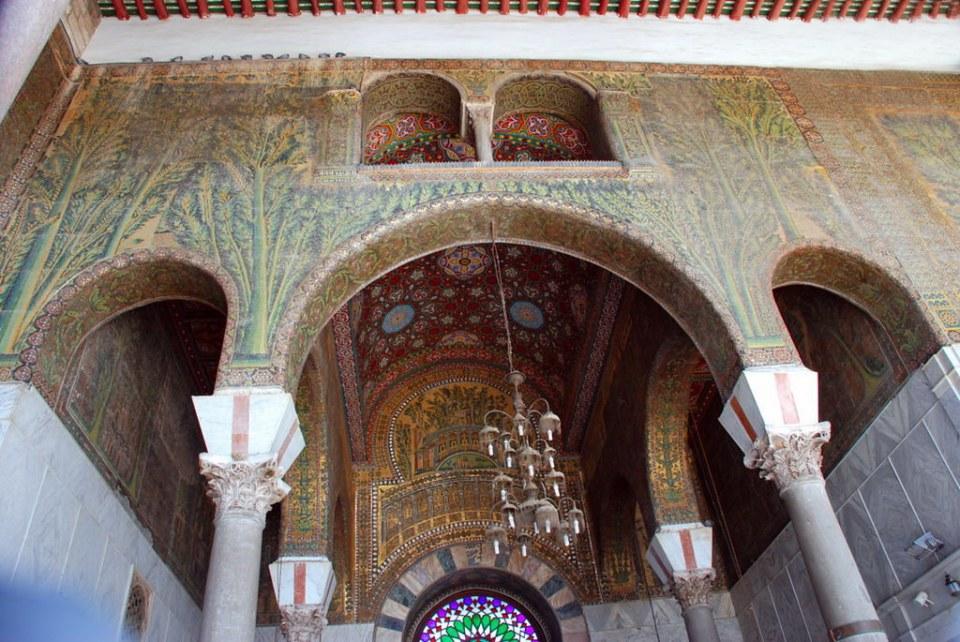 Siria Mezquita de los Omeyas Damasco 31