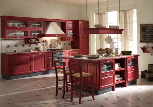 Country White Kitchens