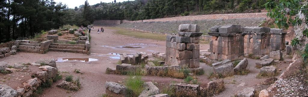 Grecia Estadio Oraculo de Delfos 28