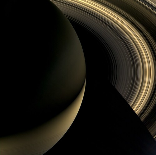 Saturn Nightside