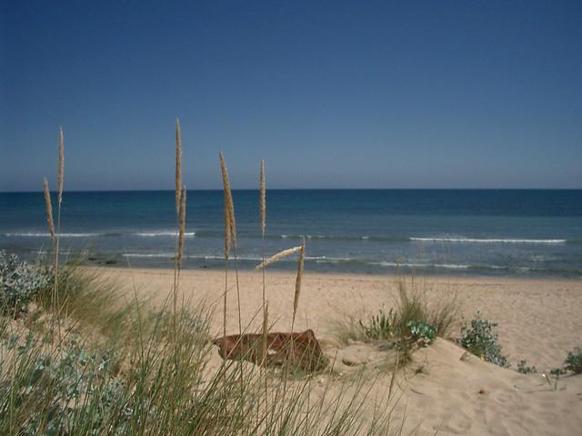 Playa del Pirata, Caños de MEca