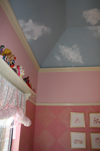Big Girl Room: Woodwork