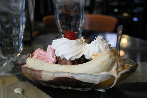 Banana Split at Dedman's