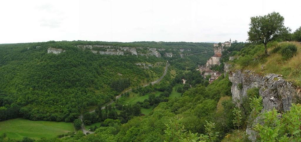 panoramica desde Rocamadour-Francia 01