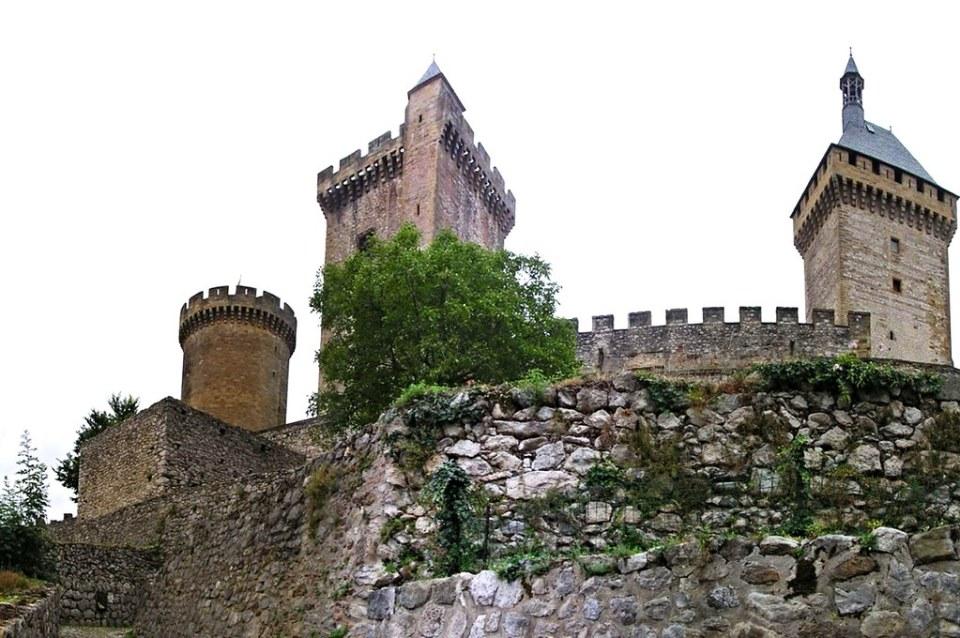 Castillo de los Condes-Foix-Francia 10 panoramica