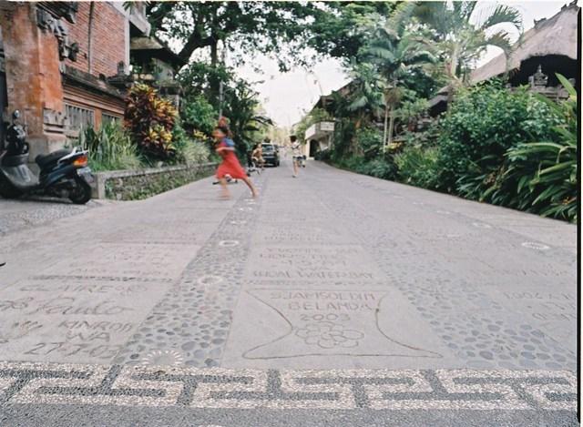Jalan Kajeng, Ubud, Bali, Indonésie
