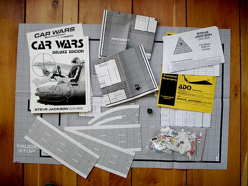 Car Wars - Deluxe Edition contents