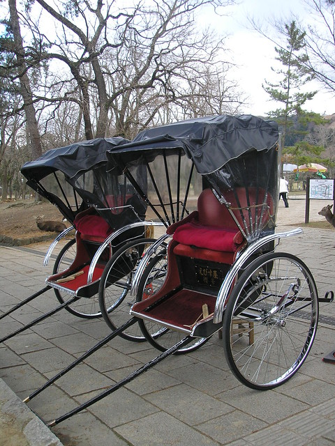 Rickshaws, Nara, 2nd January 2009