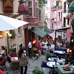 French Street in Istanbul by Anna