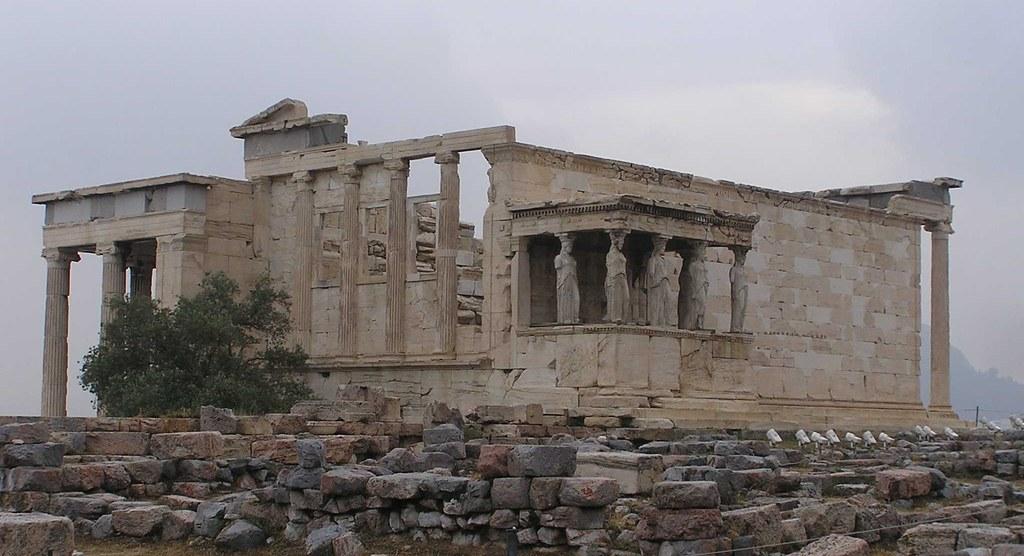Grecia Acrópolis de Atenas El Erecteion 09