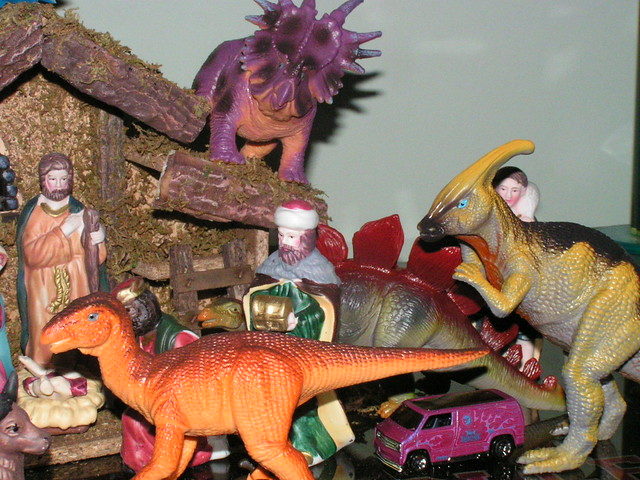 Dinosaur Nativity Scene  Flickr  Photo Sharing