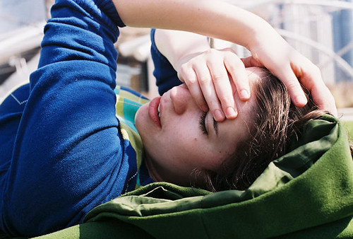 Hannah at rest