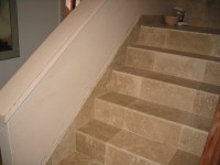 RANCHO BERNARDO TRAVERTINE STAIRS AFTER