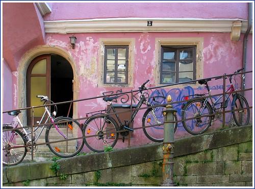 Fahrräder in Tübingen