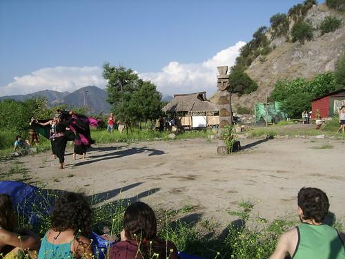 Vista al Rehue del Apu de Huechuraba