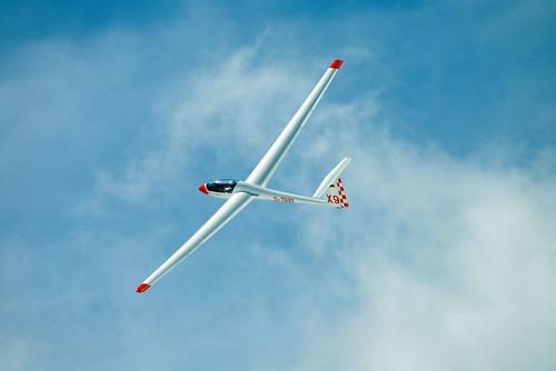 Glider off Zugspitze