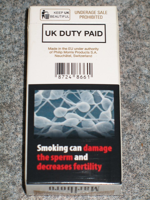New UK cigarette pack warnings 2  Flickr  Photo Sharing