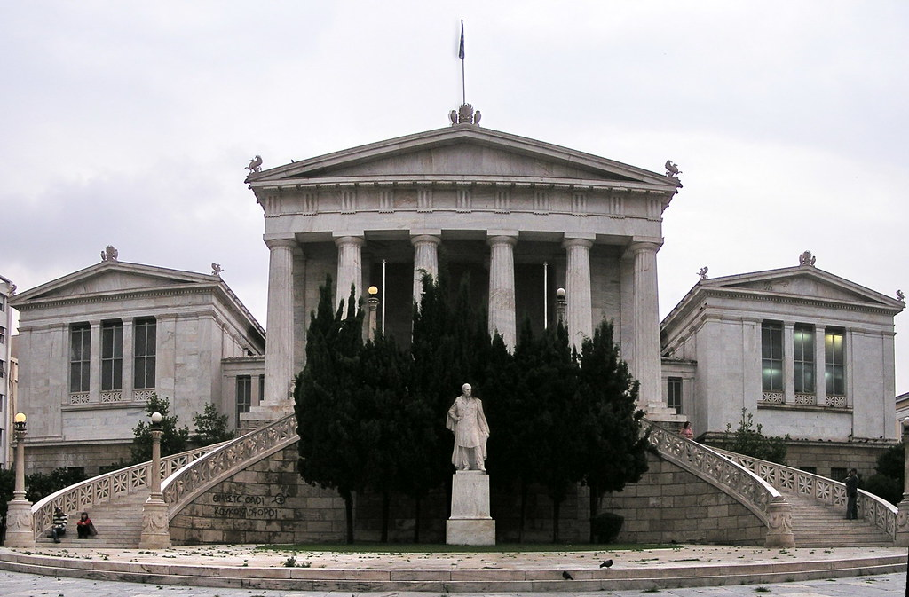 Grecia panoramica Biblioteca Nacional de Atenas 09