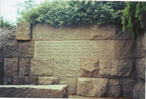 I hate war...