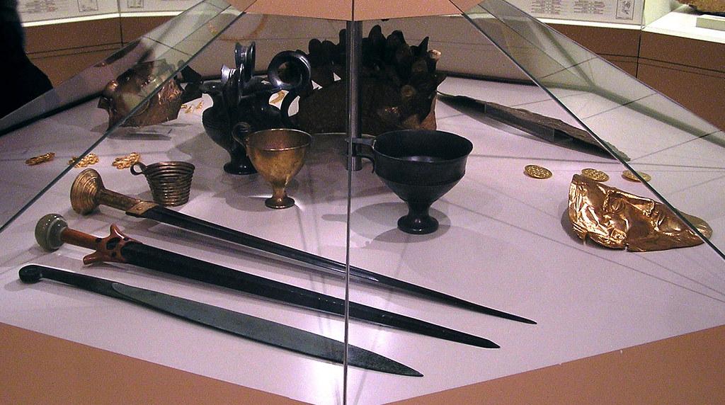 Grecia Museo de Micenas Tesoro de Atreo mascara de Agamenon 13