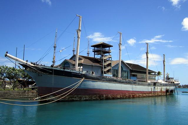 tall ship hawaii