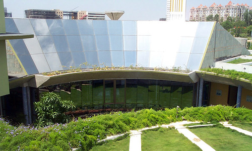 USAID supports India's clean energy efforts and the Green Business Center, the first of its kind outside the U.S. to win a LEED platinum award.