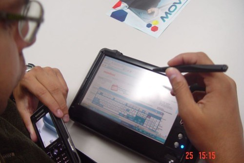 MovilMAX UMPC (Ultra-Mobile PC),