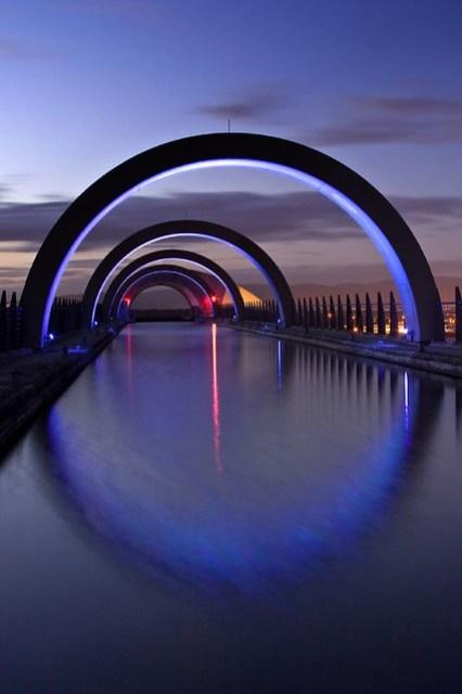 • Falkirk Wheel •