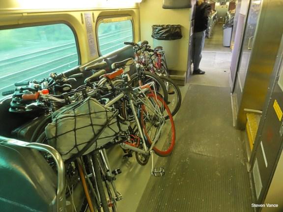 Metra bike storage